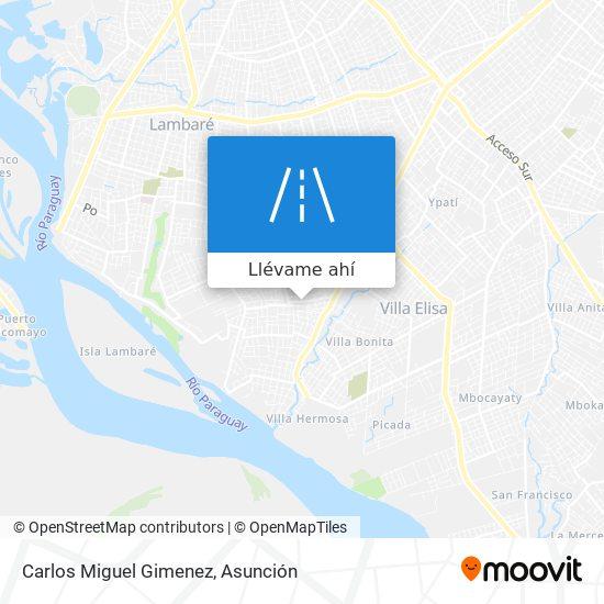 Mapa de Carlos Miguel Gimenez