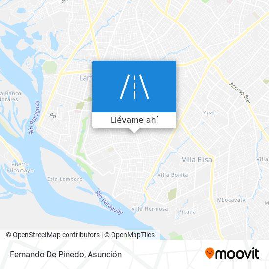 Mapa de Fernando De Pinedo