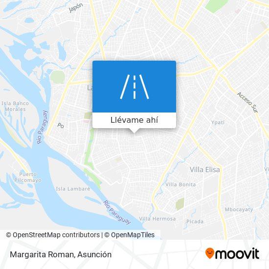 Mapa de Margarita Roman