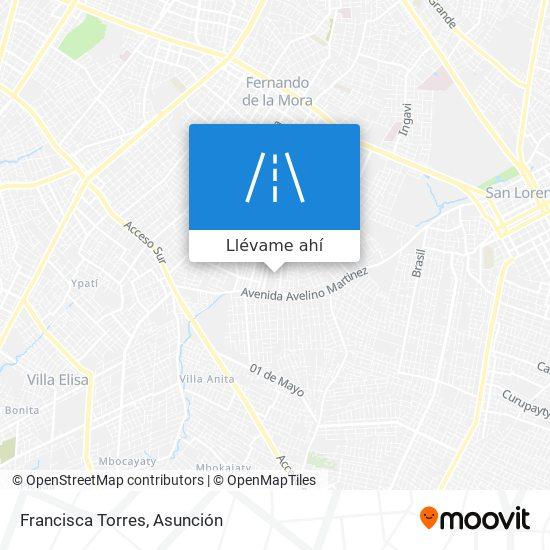 Mapa de Francisca Torres