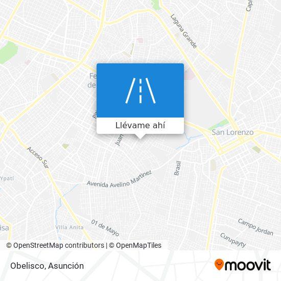 Mapa de Obelisco