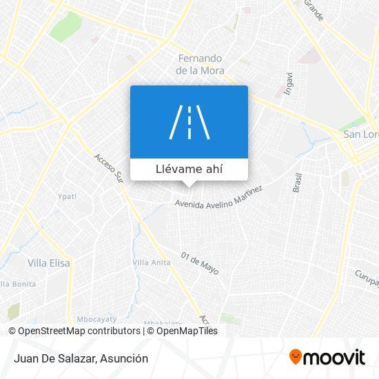 Mapa de Juan De Salazar