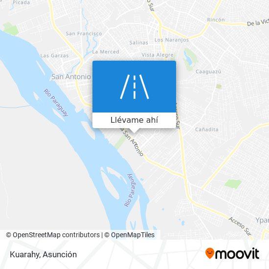 Mapa de Kuarahy