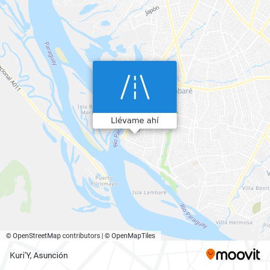 Mapa de Kuri'Y