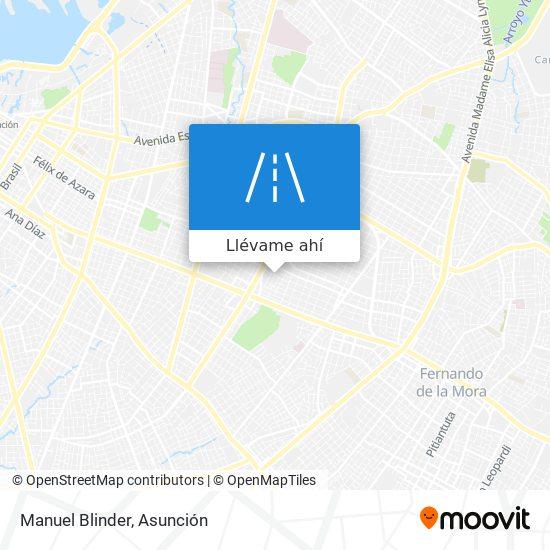 Mapa de Manuel Blinder