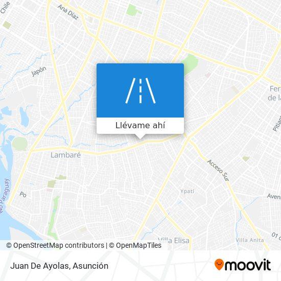 Mapa de Juan De Ayolas