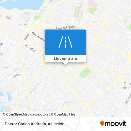 Mapa de Doctor Carlos Andrada