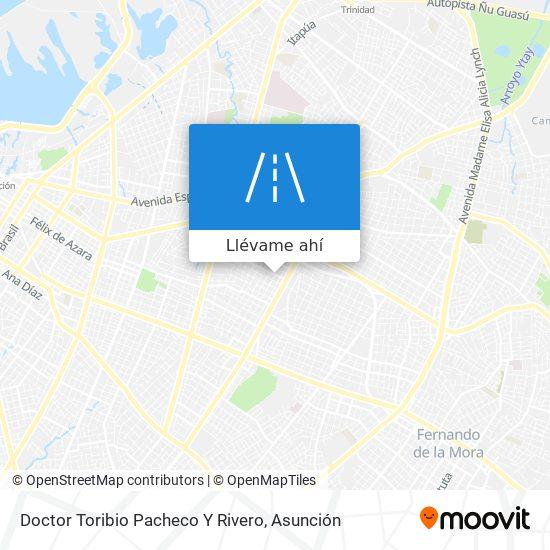 Mapa de Doctor Toribio Pacheco Y Rivero