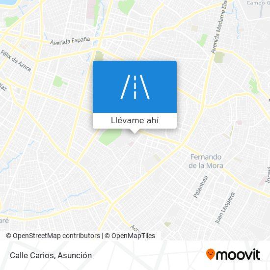 Mapa de Calle Carios