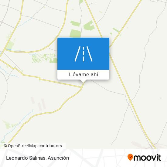 Mapa de Leonardo Salinas