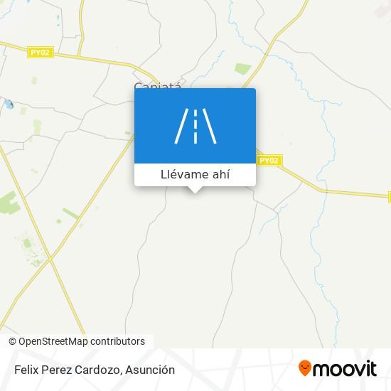 Mapa de Felix Perez Cardozo