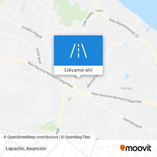 Mapa de Lapacho