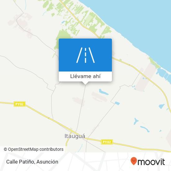 Mapa de Calle Patiño