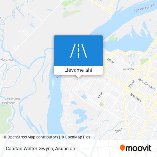 Mapa de Capitán Walter Gwynn
