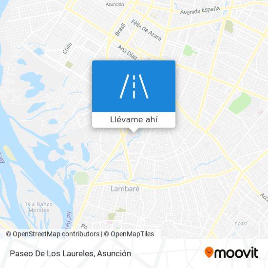 Mapa de Paseo De Los Laureles
