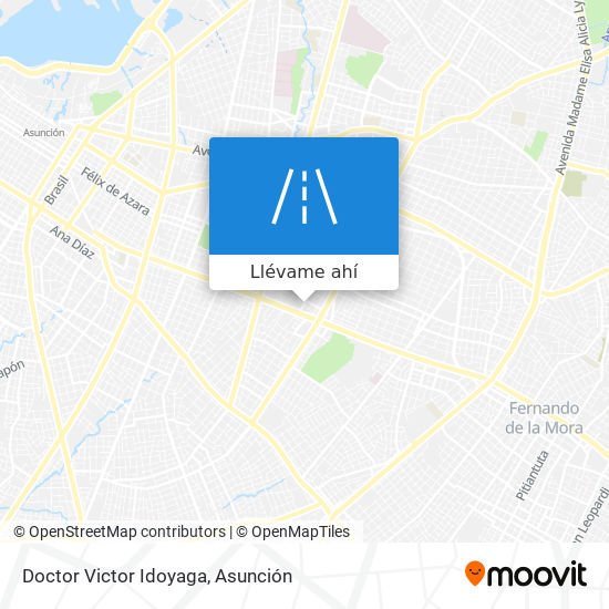 Mapa de Doctor Victor Idoyaga