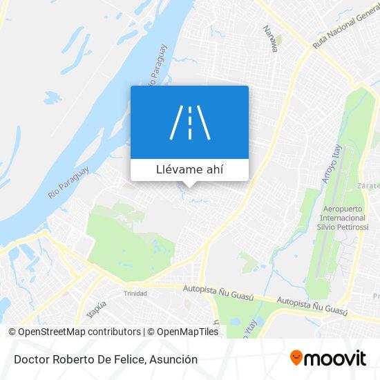 Mapa de Doctor Roberto De Felice