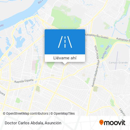 Mapa de Doctor Carlos Abdala