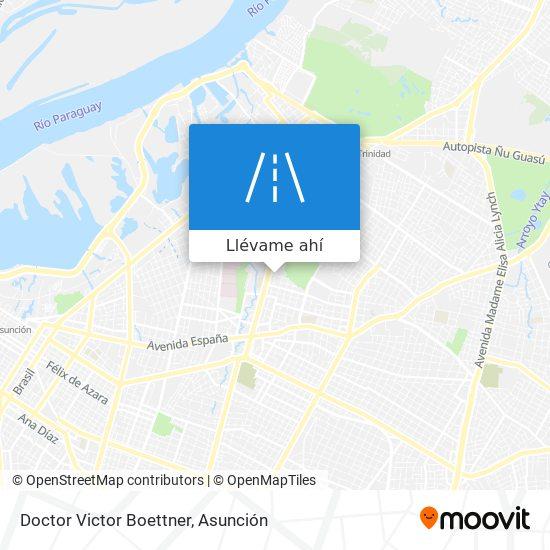 Mapa de Doctor Victor Boettner