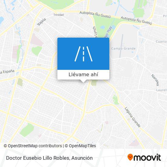Mapa de Doctor Eusebio Lillo Robles