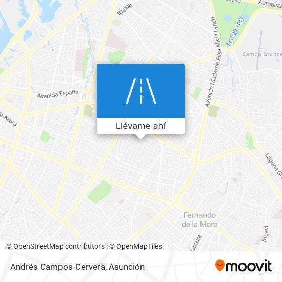 Mapa de Andrés Campos-Cervera