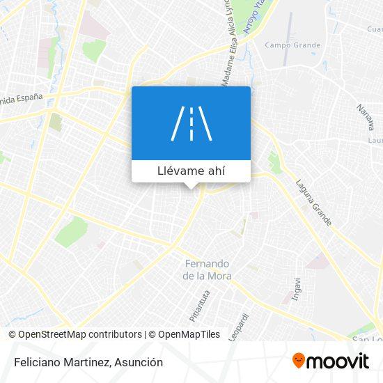 Mapa de Feliciano Martinez
