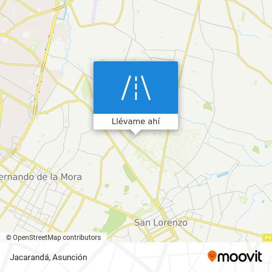 Mapa de Jacarandá