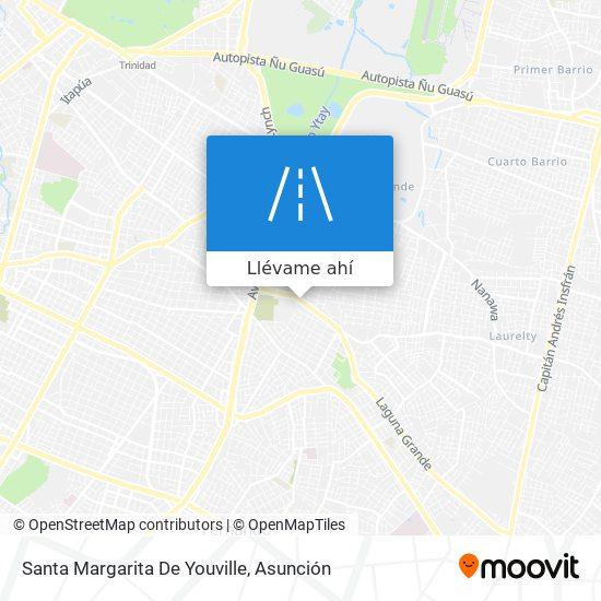 Mapa de Santa Margarita De Youville