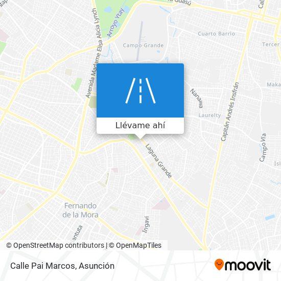 Mapa de Calle Pai Marcos