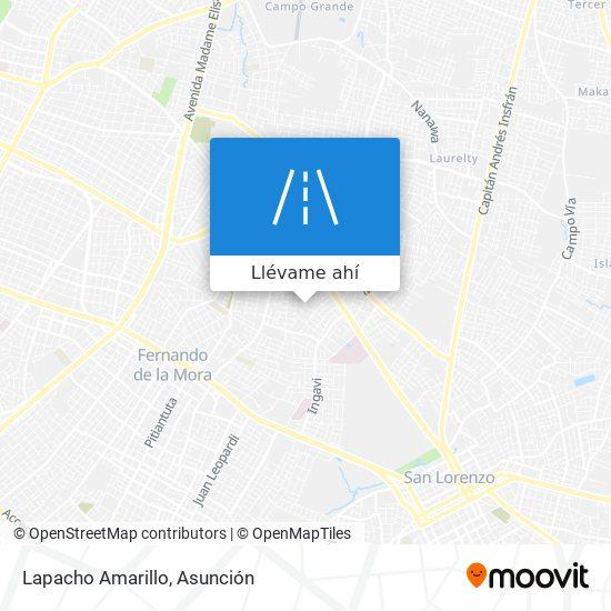 Mapa de Lapacho Amarillo