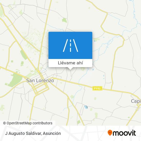 Mapa de J Augusto Saldivar