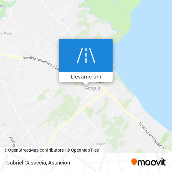Mapa de Gabriel Casaccia