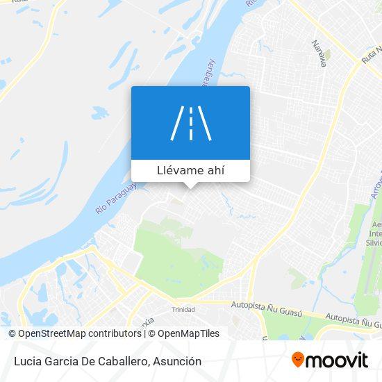 Mapa de Lucia Garcia De Caballero