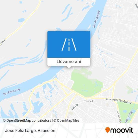 Mapa de Jose Feliz Largo
