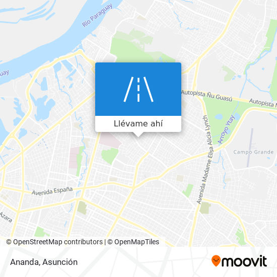 Mapa de Ananda