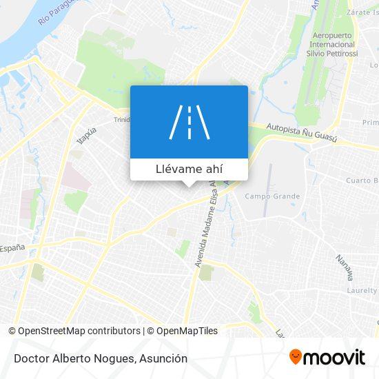 Mapa de Doctor Alberto Nogues