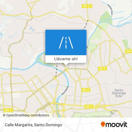 Mapa de Calle Margarita