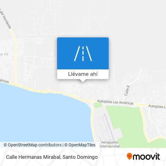 Mapa de Calle Hermanas Mirabal