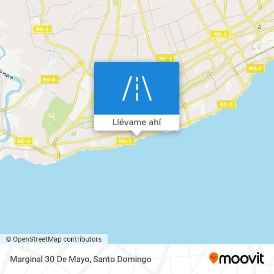 Mapa de Marginal 30 De Mayo