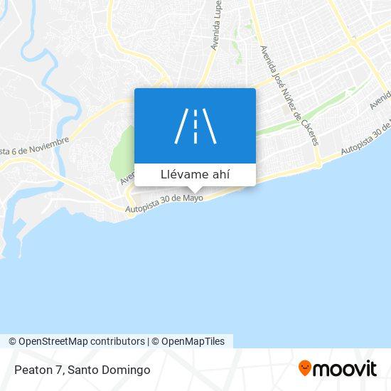 Mapa de Peaton 7