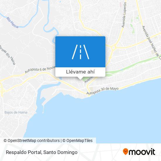 Mapa de Respaldo Portal