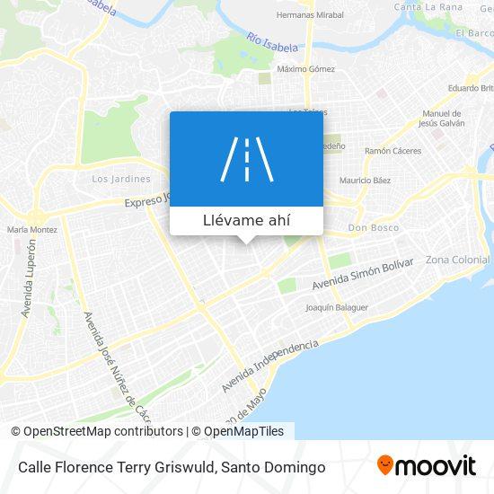 Mapa de Calle Florence Terry Griswuld