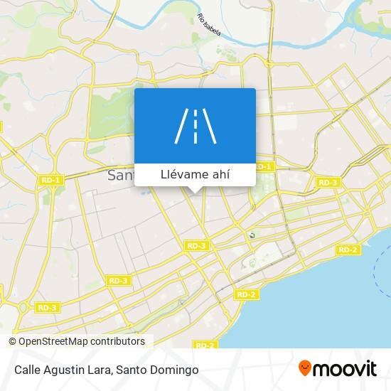 Mapa de Calle Agustin Lara