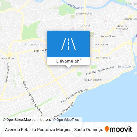 Mapa de Avenida Roberto Pastoriza Marginal
