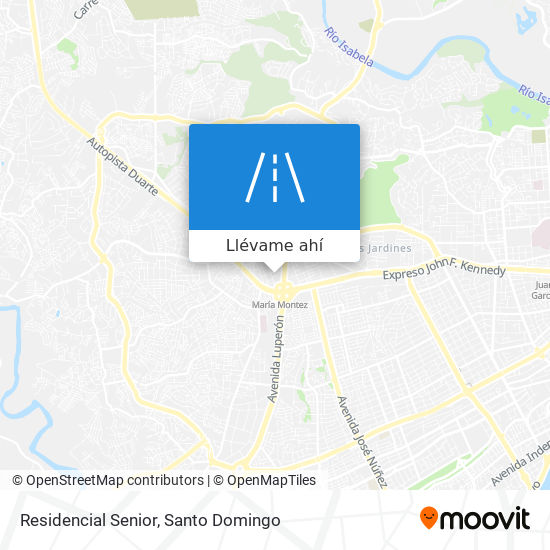 Mapa de Residencial Senior