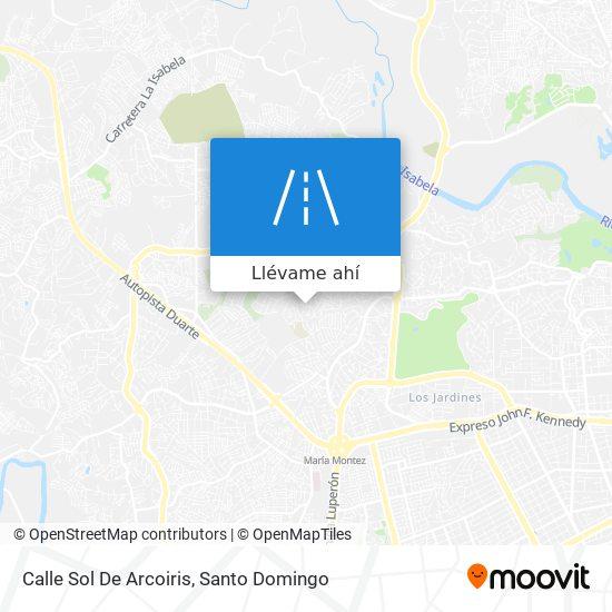 Mapa de Calle Sol De Arcoiris