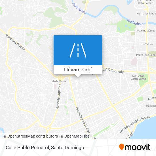 Mapa de Calle Pablo Pumarol