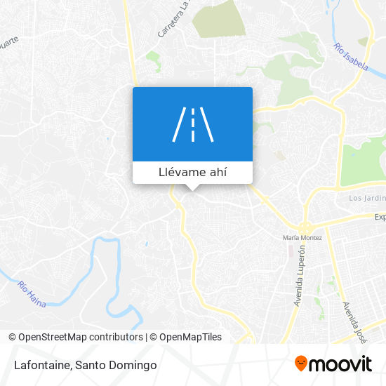Mapa de Lafontaine