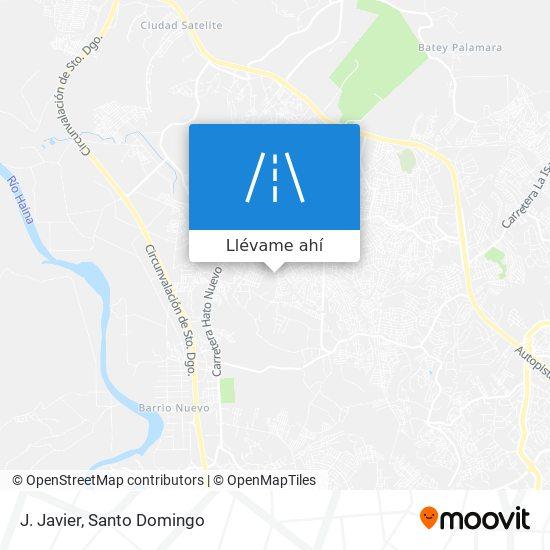Mapa de J. Javier