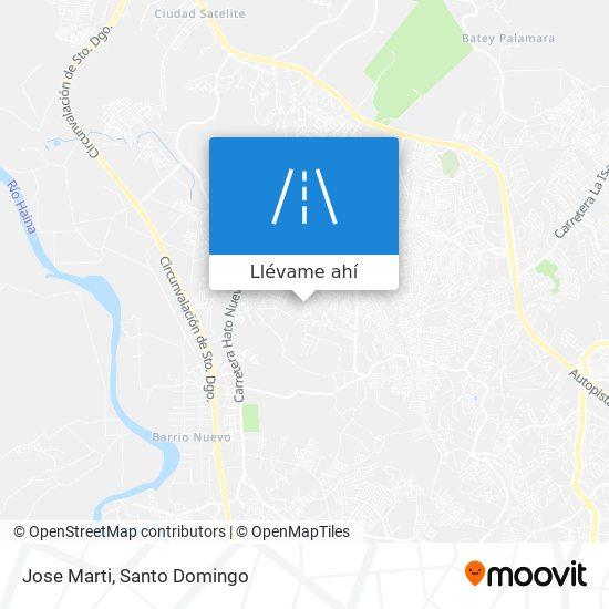 Mapa de Jose Marti